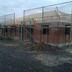 Rohbau-Fertigstellung mit Dachstuhl